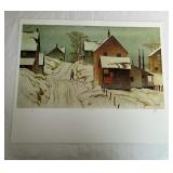Gre Day A.J Casson Print # 237/300 Unframed