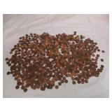 FIVE POUNDS of Canadian Pennies