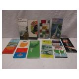 Lot of Assorted Road Maps