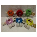 M & Ms Swarmees Plush Toy Lot