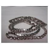 Vintage Rhinestone Necklace Signed  Coro