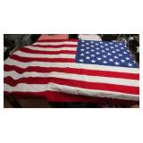 Made in USA  American Flag Cotton Stitched