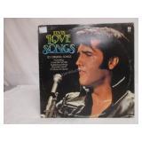 Elvis Presley LP Vintage Vinyl Record Love Songs