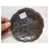 Antique St Johns N.B Copper Dish