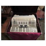 accordian, instrument, music