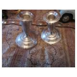 Another Pair of Sterling Candle Sticks