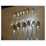 12) Sterling Serving Spoons