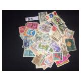 Italian Collectible Used Stamps
