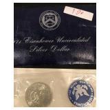 Eisenhower Uncirculated Silver Dollar 1971