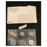 1961 U.S Mint Uncirculated Coins