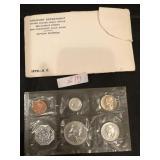 1962 U.S Mint Uncirculated Coins