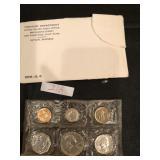 1960 U.S Mint Uncirculated Coins