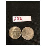2 Francs Coins