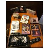 Lot Including Radio, Calculator, DVD
