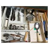 Lrg Lot Flatware, Utensils, Trays, etc...