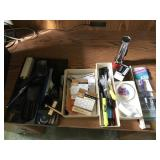 Lot Office Supplies incl. Magnifier, etc...