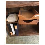 Lot incl. Dove-Tailed Wooden File Boxes, etc...