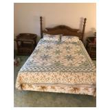 Nice Quality Queen-Size Poster Bed - Complete