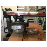 Craftsman 10 inch Radial Arm Saw