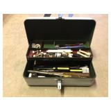 Tool Box w/Contents incl Wrenches, Hammers,