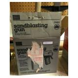 Sears Sandblasting Gun With Box