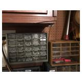 (2) Parts Cabinets w/Contents