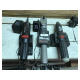3 Cordless Tools