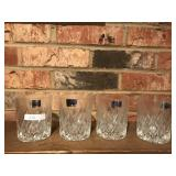 4 Crystal Hi-Ball Glasses