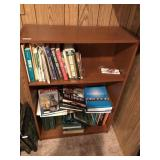 2 Tier Wooden Bookcase