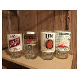 4 Party Themed Glasses