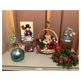 Lot of Decorative X-Mas Accessories