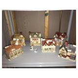 Ceramic Christmas Village