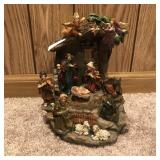 Nativity Music Box Figurine