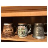 Collection of Steins & Tankards