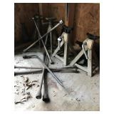 3 Ton Heavy Duty Jack Stands, Tire Irons, etc...