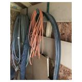 Lot with Garden Hose, Extension Cord, etc