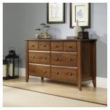 Sauder Shoal Creek 6 Drawer Dresser in Oiled Oak