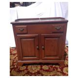 Statton wood console