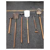 Assorted gardening tools (6)