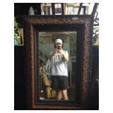 Orante framed mirror