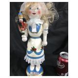 Vintage Clara & Nutcracker figurine