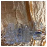 Glass steins