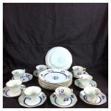Adam Calyx Ware tea cups & saucers