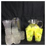 Assorted drinkware