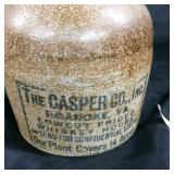 Vintage The Casper Co. whiskey jug