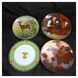 Assorted decorative plates