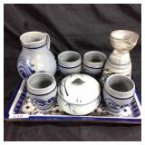 Assorted Asian Tea drink ware