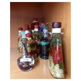 Assorted artisinal oils