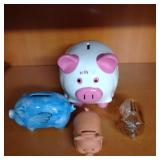 Assorted Piggy Banks (Pigs)