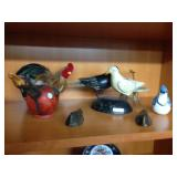 Assorted avian figurine